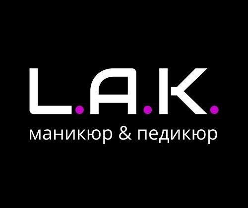 разработка и создание логотипа студии ЛАК