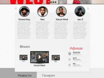"""Создание сайта продюссерского центра """"SPB"""""""